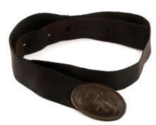 CIVIL WAR UNION BELT AND PLATE PUPPY PAW PRONG