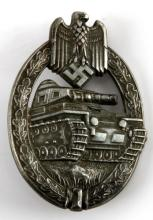 WWII GERMAN PANZER ASSAULT BADGE ADOLF SCHOLZE