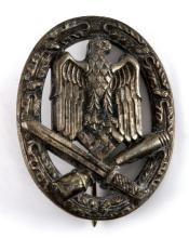 WWII GERMAN GENERAL ASSAULT BADGE JOSEF FEIX SOHNE
