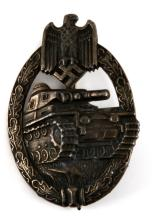 WWII GERMAN PANZER ASSAULT BADGE KARL WURSTER