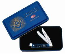 CASE CUTLERY 01058 FREEMASON COMMEMORATIVE KNIFE
