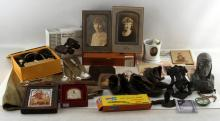 VARIETY LOT OF GENERAL ANTIQUES AND COLLECTIBLES