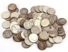 $42 FACE VALUE 90% SILVER HALF DOLLAR COIN LOT