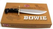 CASE XX CUTLERY 00311 BOWIE KNIFE W/ CASE LOGO