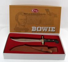 CASE BOWIE FIXED BLADE HUNTING KNIFE BLK 00286 SS