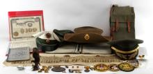 LARGE MULTI CONFLICT MILITARIA COLLECTIBLE LOT