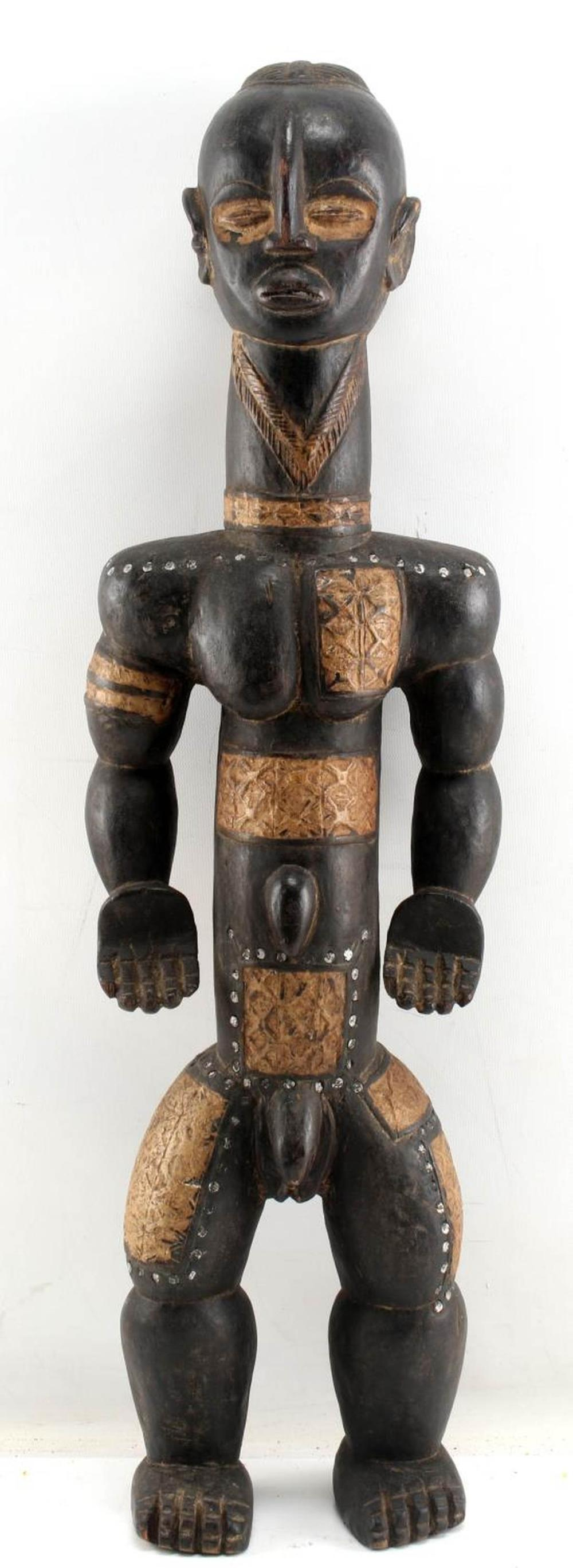 WEST AFRICAN BETE TRIBAL ANTHROPOMORPHIC STATUE