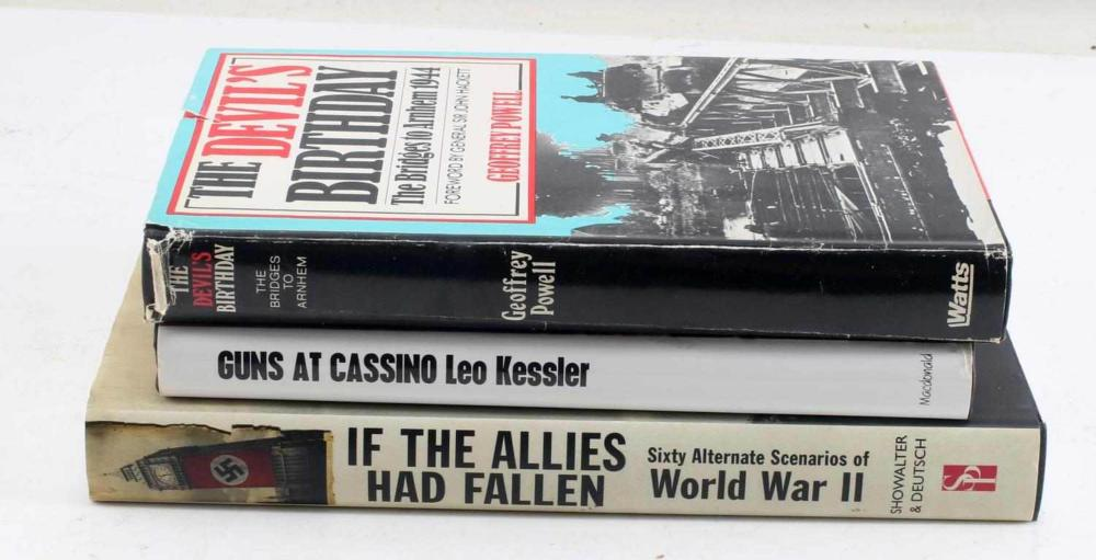 WWII THIRD REICH GERMANY NETHERLANDS ITALY BOOKS