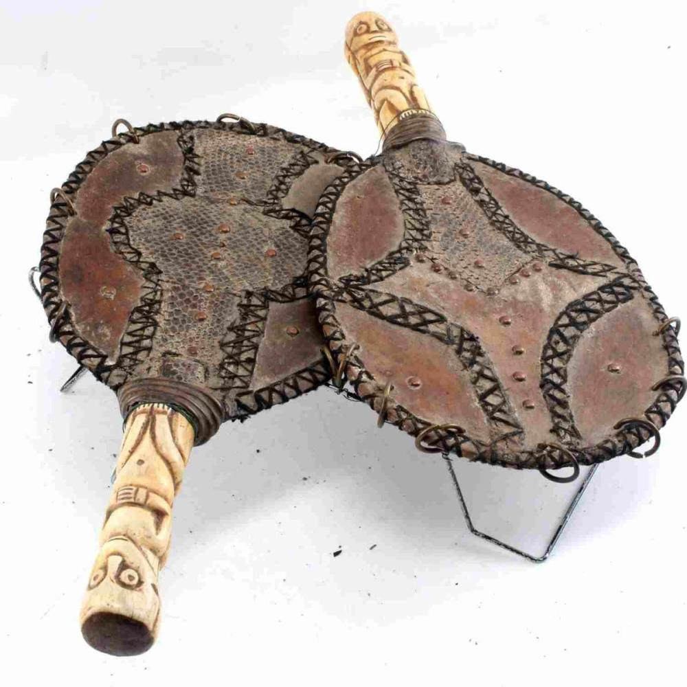 ETHNOGRAPHIC AFRICAN CONGO FERTILITY RATTLE