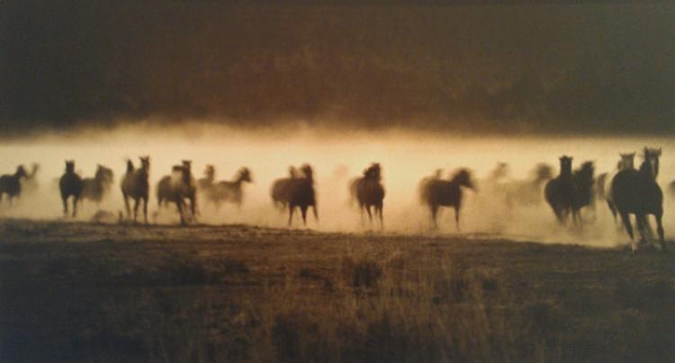 Bank Langmore (b. 1935), MC Ranch, Oregon