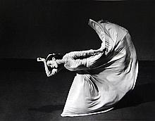 Barbara Morgan (1900-1992), Martha Graham (Kick), 1940
