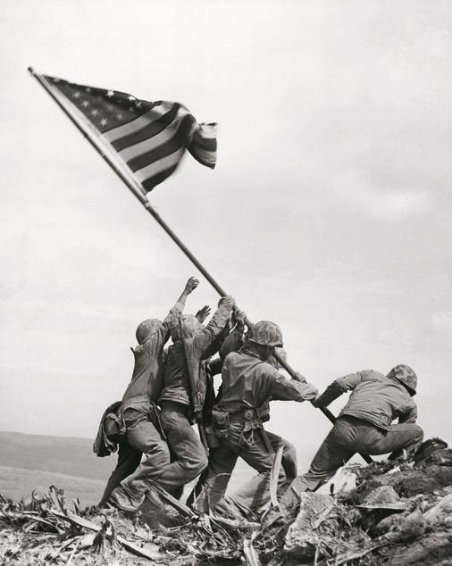 Joe Rosenthal (1911-2006), Iwo Jima, Feb. 23, 1945