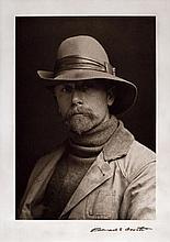 Edward S. Curtis (1869-1952), Self-portrait
