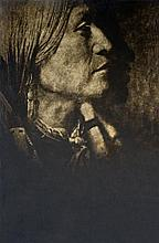 Edward S. Curtis (1869-1952), Vas Gon, Jicarilla Chief