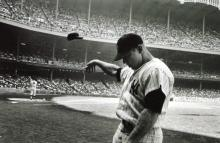 John Dominis (American, 1921-2013), Mickey Mantle