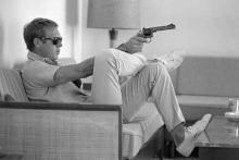 John Dominis (Ameerican, 1921-2013), Steve McQueen