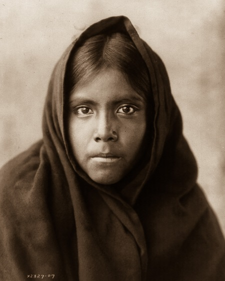 Edward S. Curtis (1868-1952), Qahatika Girl