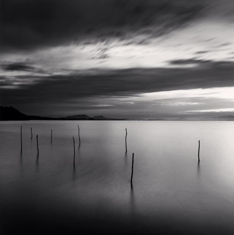 Michael Kenna (b. 1953), Sticks in Water, Honshu, Japan