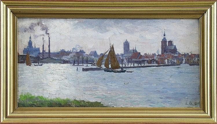 Elisabeth Büchsel (1867 - 1957) - Öl auf Leinwand,