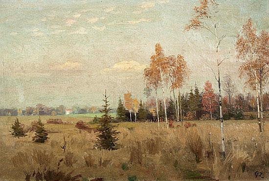 Ernst von Saucken (1856 - 1920) - Öl auf
