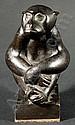 Richard Scheibe (1879 - 1964), Bronzefigur in, Richard Scheibe, Click for value