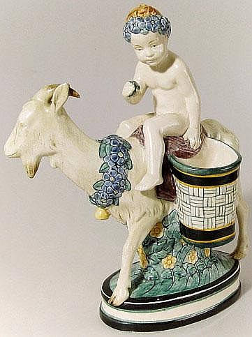 Entwurf Wilhelm Süs (1861 - 1933) - Keramik-Figur