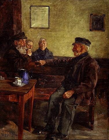 Reinhold Koch-Zeuthen (1889 - 1949) - Öl auf