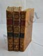 LANTIER (E.-F.). Les Voyageurs en Suisse. Paris, F. Buisson, 1803. 3 vol. in-8, basane racinée, dos lisse orné, pièces de titre rouge et de tomaison verte, tranches jaunes (Reliure de l'époque).