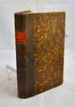 SUCHAUX (Louis). Galerie biographique du département de la Haute-Saône. Vesoul, Suchaux, 1864. In-8, demi-basane marron, pièce de titre rouge, chiffre doré H. B. poussé en queue de dos, tranches mouchetées, couverture (Reliure de l'époque).