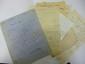 Paul FORT (1872-1960). 3 manuscrits autographes, et 2 L.A.S. ; 8 pages et demie in-8.