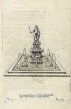 DAN (Pierre). Le Trésor des merveilles de la maison royale de Fontainebleau. Paris, Sébastien Cramoisy, 1642. In-folio, veau granité, double filet doré, armoiries au centre, dos orné, pièce de titre rouge, tranches mouchetées (Reliure de l'époque).
