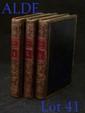 ACADÉMIE DES DAMES, ou le Meursius français. Au Bazar, 1797. 3 volumes in-18, basane verte, triple filet doré, dos lisse orné, pièces de titre et de tomaison rouges, coupes décorées, tranches dorées (Reliure de l'époque).