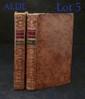 [ÉPINAY (Madame de la Live d')]. Les Conversations d'Émilie. Nouvelle édition. Paris, Humblot, 1781. 2 volumes in-12, veau marbré, dos lisse orné, pièces de titre rouge et de tomaison verte, tranches rouges (Reliure de l'époque).