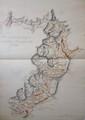 [ANONYME]. Carte de la grande route de Grenoble à Briançon, faitte en 1751. [milieu XVIIIe siècle]. 640 x 480 mm.