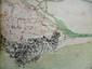 [ANONYME]. [Carte des environs de Vintimille]. [milieu XVIIIe siècle]. En six feuilles jointes de 638 x 1060 mm.