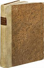 ALBERTI (L. B.). L'architettura... Florence, Lorenzo Torrentino, 1550, in-folio de 216 ff. sign. a-z6, A-C6, [i-i2], D4, E2, F-L6, M4, N-O6, demi-vélin, dos lisse avec étiquette de titre, tranches lisses (reliure du XIXe siècle).