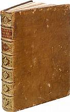 ALBERTI (L. B.). De re aedificatoria. Florence, Nicoló de Lorenzo, [29 XII] 1485, in-folio de 204 ff. n. ch. sign. a-d8, e8, f-o8, p6, q-z8, &8, ?8, ?8, veau fauve, dos à nerfs orné, tranches mouchetées (reliure du XVIIIe siècle).