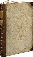 VITRUVE (Marcus Vitruvius Pollio, dit). [De architectura libri decem]. Per Iocundum solito castigatior factus cum figuris et tabula. Venise, G. Tacuinus, 1511, in-folio de 124 ff. sign. AA4, A-N8, O6, P10, demi-basane mouchetée à coins, plats de