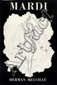MELVILLE (Herman). Mardi. Paris, Robert Marin, 1950. In-8, demi-maroquin noir avec bandes, dos lisse, tête dorée, non rogné, couverture et dos (Reliure de l'époque).