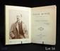 ANNUNZIO (Gabriele d'). LA VILLE MORTE. Paris, Calmann Lévy, 1898. In-12, Bradel, demi-maroquin à longs grains bleu nuit, dos titré or, tête cirée rouge, couverture conservée.