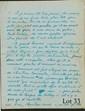 ARNAUD (Noël). CHRISTINE BOUMEESTER. Manuscrit autographe signÉ. 6 pages et demi in-4.