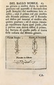 DANSE. Giambattista DUFORT. Trattato del Ballo nobile (Naples, Felice Mosca, 1728) ; petit in-8, plein vélin, 22 f. n. ch., 160 pp. (reliure de l'époque).