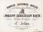 Jean-Sébastien BACH. Grosse Passions Musik nach dem Evangelium Johannis (Berlin, Trautwein, 1830), cot. 365 ; grand in-4 oblong, toile verte et papier marbré, pièces de titre rouge, i f. n. ch. (titre), 101 pp. (reliure moderne).