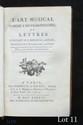 Antoine D.R. BORGHESE. L'Art musical ramené à ses vrais principes ou lettres d'Antoine D.R. Borghese à Julie, traduites de l'Italien par l'Auteur (Paris, Hardouin et Gattey, 1786) ; in-8, plein veau, 178 pp., privilège (reliure de l'époque).