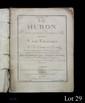 André-Modeste GRÉTRY (1741-1813). Le Huron, Comédie en deux actes et en vers...représentée pour la première fois par les Comédiens Italiens le 20 Aoust 1768... OEuvre 1er . (Paris, Beraux, Haubaut, 1768) ; in-folio, broché, 183 pp.