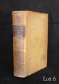 Gaspard BARTHOLIN. De Tibiis Veterum et earum antiquo usu. Libri Tres... (Romae, P. Manetae, 1677) ; petit in-8, plein vélin crème, viii f. n. ch., 235 pp. et ii f. n. ch. (reliure de l'époque).