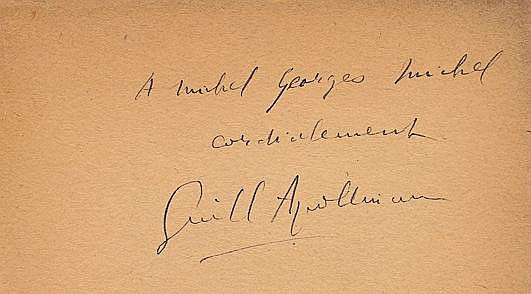 APOLLINAIRE (Guillaume) Calligrammes Poèmes de la