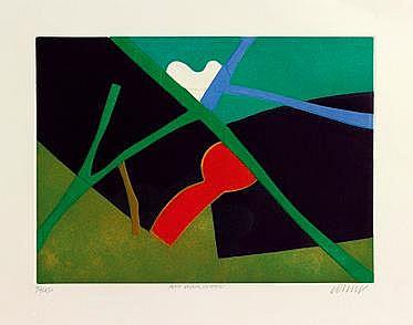 Bertrand Dorny (né en 1931) Petit voyage lointain
