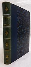 DAUDET (Alphonse). Le Nabab. Maeurs parisiennes. Paris, G. Charpentier, 1877. In-12, demi-chagrin bleu, dos orné de fleurons dorés, chiffre « AT » doré en queue, non rogné (Reliure de l'époque).