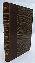 BARBEY D'AUREVILLY (Jules). Le Chevalier Des Touches. Paris, Michel Lévy, 1864. In-12, demi-maroquin brun, dos orné d'un paraphe doré répété, tête dorée, non rogné (Reliure de la fin du XIXe siècle).